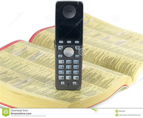 And Phone Search Phone And Telephone Directory Royalty Free Stock Photo Image 9695455