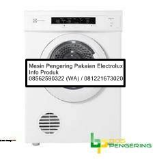 Mesin Pengeringdrayer Electrolux Edv 6051 mesin pengering laundry electrolux mesin pengering laundry