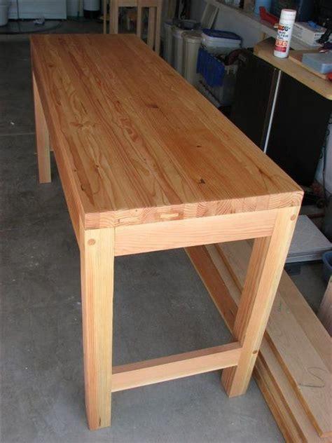 quick  cheap work bench  rjones  lumberjockscom