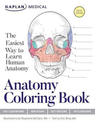 anatomy coloring book mccann anatomy coloring book by mccann eric wise