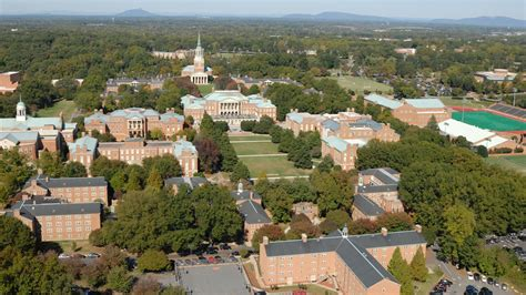 wake forest wfu cus master plan ayers saint gross