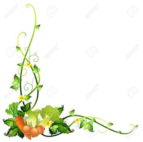 k w vegetables vegetable borders clip 28