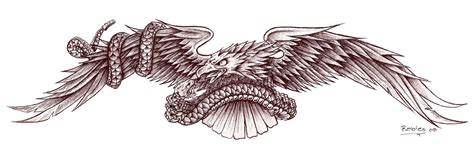 eagle and snake tattoo design eagle and snake by morobles on deviantart