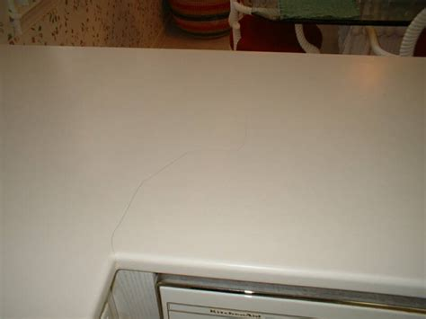 Corian Countertop Repair by Repair Cracked And Broken Corian Wilsonart Gibraltar
