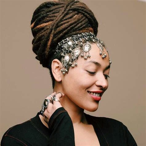 Wedding Hair Accessories For Dreadlocks by 2030 Best Loc Styles Images On Dreadlock