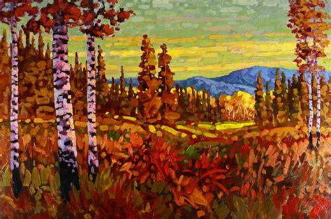 Landscape Artists In Canada Ken Gillespie Sfca Impressionist Painter Landscape