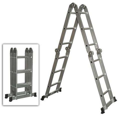 Multi Purpose Ladder multi purpose aluminum ladder folding step ladder