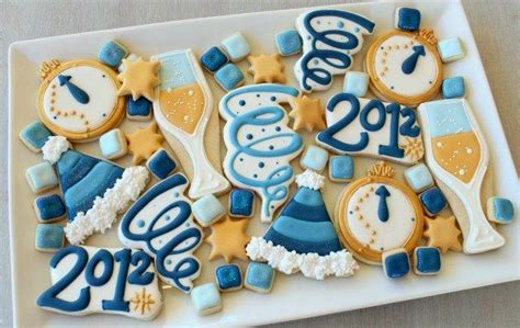 new year cookies new years cookies fooood