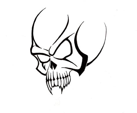 head tattoo designs skull tattoos