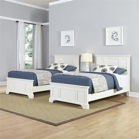 2 twin beds two twin beds 3 piece bedroom set in white 5530 4024