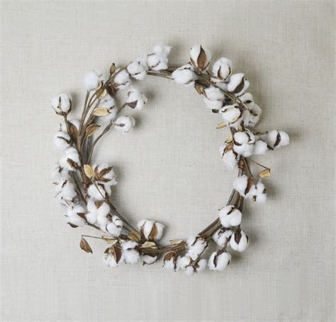 decorative wreaths for home cotton wreath home decor farmhouse wreath fall wreath