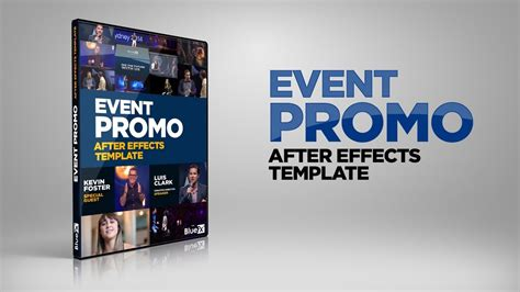After Effects Template Event Promo Youtube Bond After Effects Template