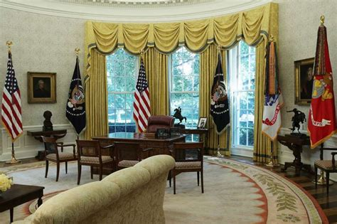 trump oval office redecoration donald trump brings personal touch to white house after