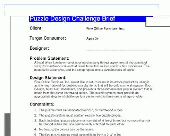 design brief engineering ied electrical engineer