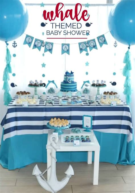 baby shower whale theme decorations whale baby shower ideas wblqual