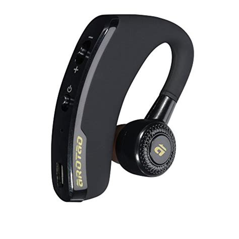 Headset Bluetooth Samsung S5 arotao bluetooth headset free ear hook earbuds for car truck driver compatible iphone 7 6s