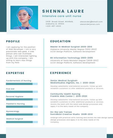 Curriculum Vitae Nursing Template by 8 Nursing Curriculum Vitae Templates Free Word Pdf