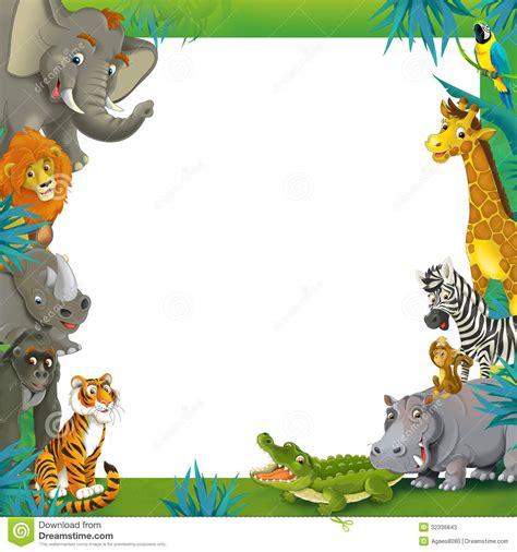 jungle animal templates jungle animal border clipart clipart suggest