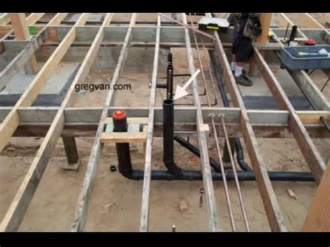 Raised Floor And Toilet Pipes   How Does A Plumbing Clean