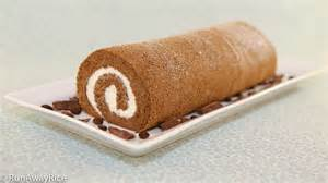 roll cake swiss roll log cake banh bong lan cuon