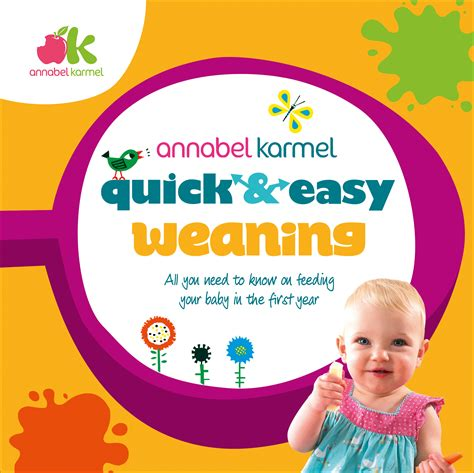 the baby led weaning quick 0091947553 quick easy weaning annabel karmel
