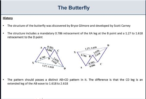 pattern butterfly trading the bearish and bullish butterfly pattern investoo com