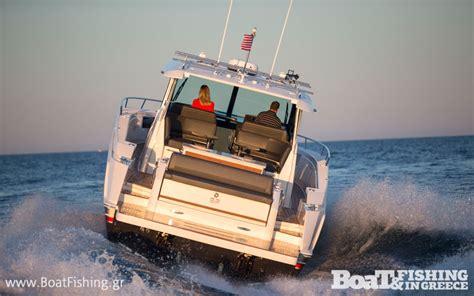tiara boats q44 παρουσιαση νεο tiara q44 boat fishing