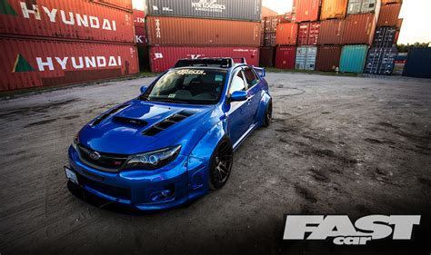 widebody subaru impreza widebody subaru impreza wrx sti fast car