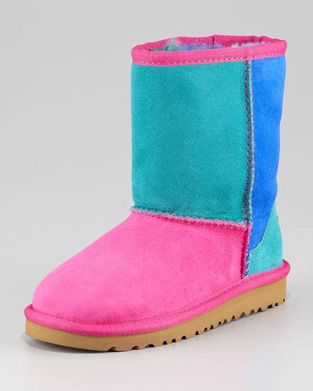 Patchwork Ugg Boots - ugg australia classic patchwork boot toddler