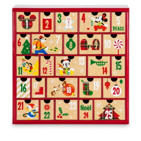 Disney Advent Calendar Mickey Mouse And Friends Advent Calendar