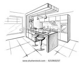 Kitchen Design Sketch by Kitchen Sketch Stock Images Royalty Free Images Amp Vectors