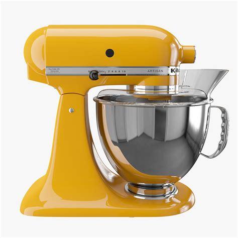 artisan kitchen mixer 3d model
