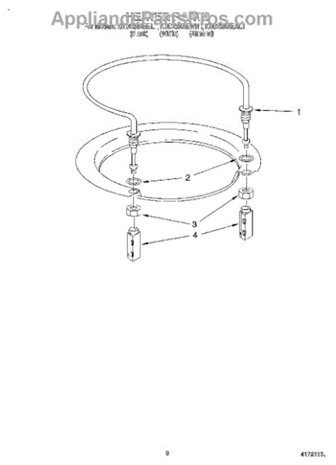 Kitchenaid Dishwasher Not Completing Cycle Whirlpool Wp717273 Rubber Washer Appliancepartspros