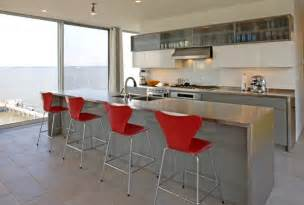 metal kitchen island 15 kitchens with stainless steel countertops