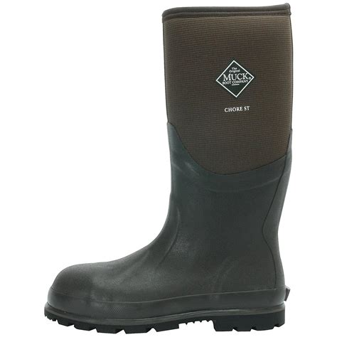 s muck boots chore cool 16 quot steel toe waterproof