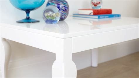white gloss coffee table living room furniture uk delivery