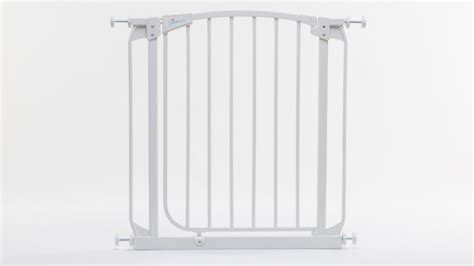 swing open baby gates dreambaby swing closed security gate f160w safety gate