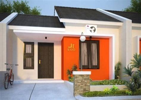 warna cat depan rumah minimalis sederhana tampilan mewah