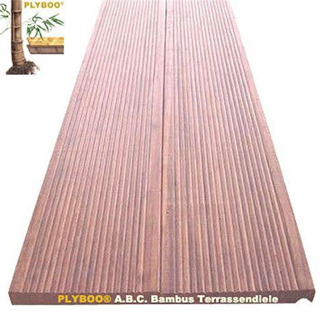 Terrassendielen Aus Bambus by Bambusparkett De Terrassendielen Aus Bambus Ihre
