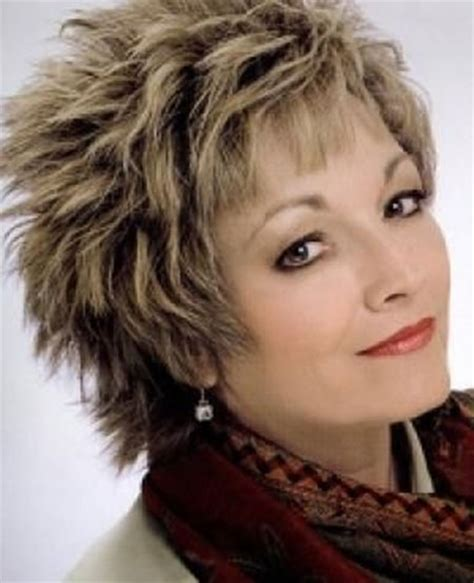 spiky haircuts for seniors photos of short haircuts for older women short