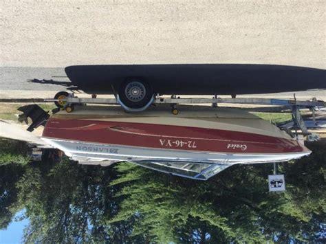 nieuwe speedboot speedboot larson 1900 nieuwe pegatrailer met kenteken