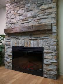 Fireplace Ideas With Stone Decoration How To Build Stacks Stone Veneer Fireplace