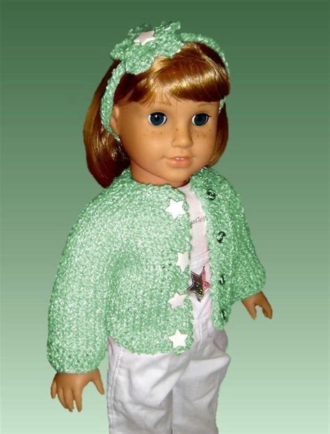 doll cardigan knitting pattern top seamless cardigan knitting pattern fits american
