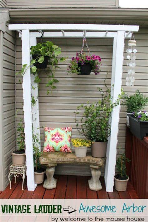 brilliant diy backyard arbor ideas