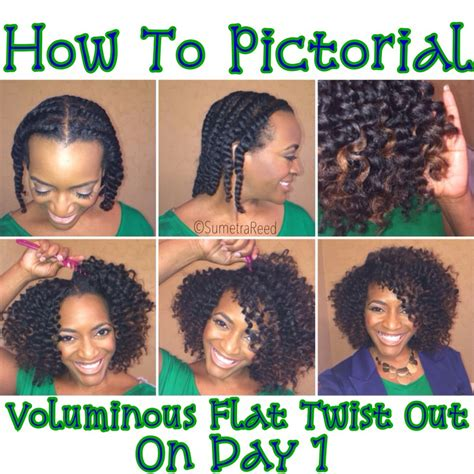 how to do flat twist hairstyles how to achieve a voluminous flat twist out on day 1 i am