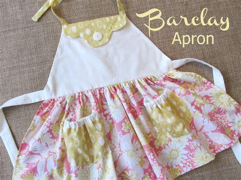 sewing of apron barclay kitschy apron girls sewing pattern pdf pattern