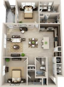 small 2 bedroom house floor plans best 20 garage apartment plans ideas on 3