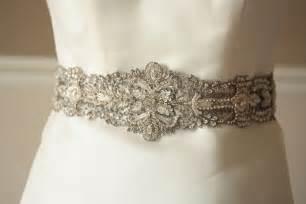 wedding sash antique wedding finds from etsy vintage bridal sash onewed