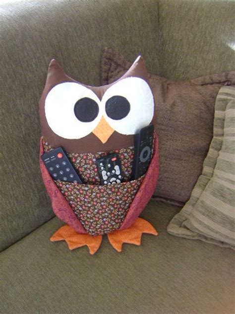 pattern for owl remote holder pinterest the world s catalog of ideas