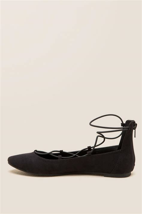 report flat shoes report bell lace up ballet flat s